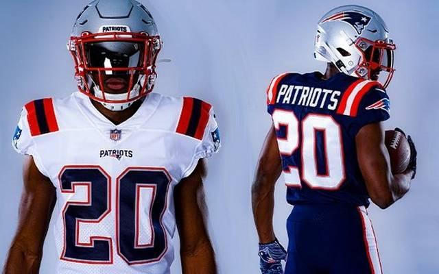 Mit diesen Trikots gehen die Patriots in die nächste NFL-Saison
