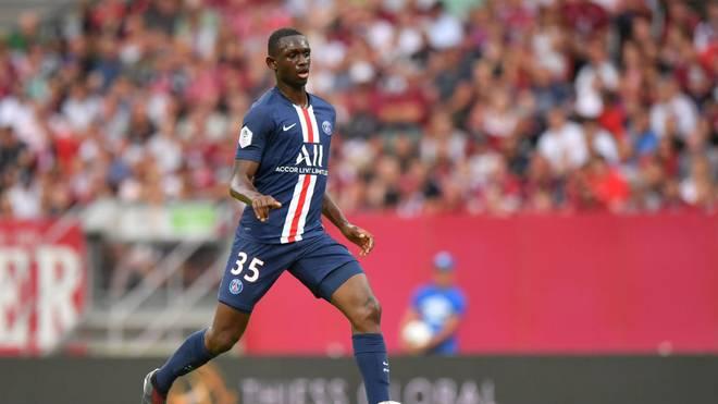Tanguy Kouassi spielt seit 2019 für die Profis von Paris Saint-Germain