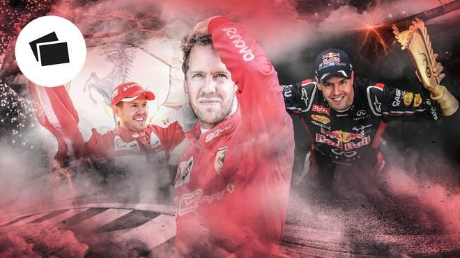 Sebastian Vettel erlebt im Ferrari-Cockpit einen schleichenden Niedergang