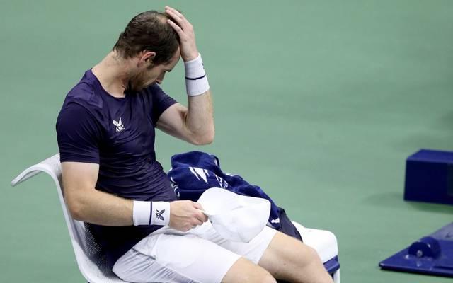 Andy Murray flog in der 2. Runde der US Open raus