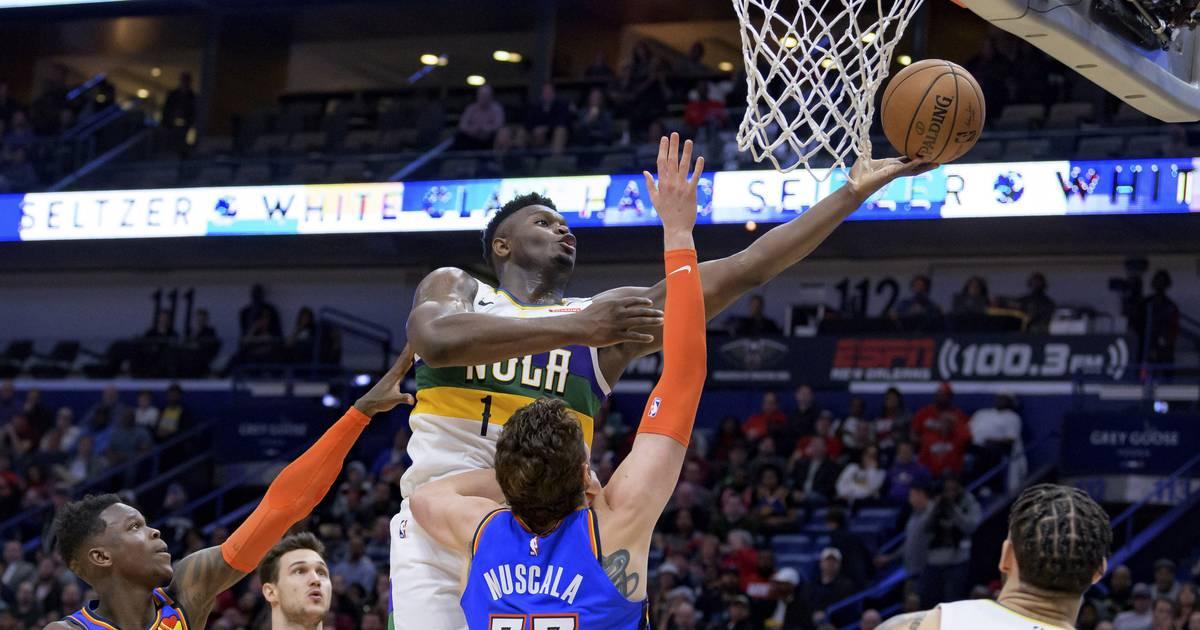NBA: Zion Williams mit neuem Career High, Dennis Schröder und OKC gewinnen