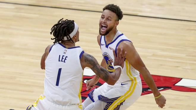 Stephen Curry steigt bei den Golden State Warriors zur Legende auf
