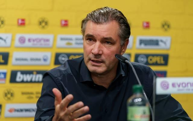 Michael Zorcs Vertrag beim BVB läuft noch bis 2022