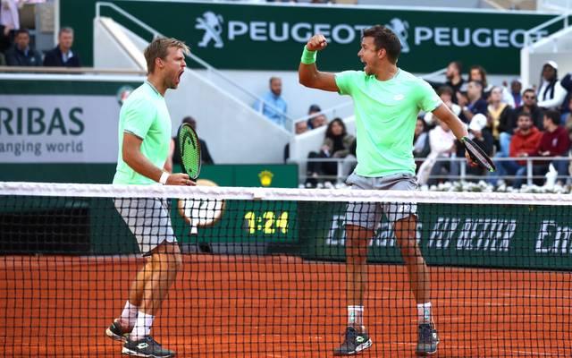 Kevin Krawietz und Andreas Mies gewannen 2019 ihren ersten Grand-Slam-Titel