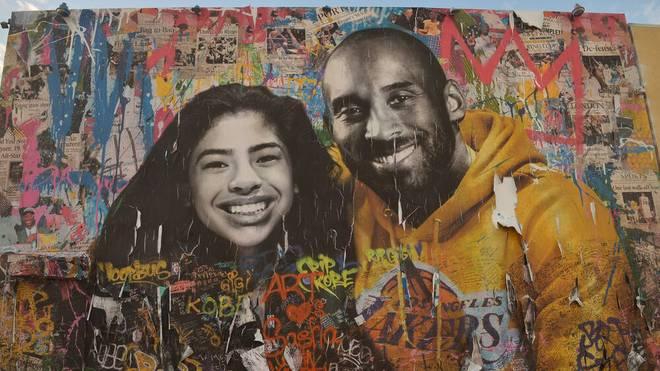 Gianna und Kobe Bryant verstarben bei einem Hubschrauber-Absturz