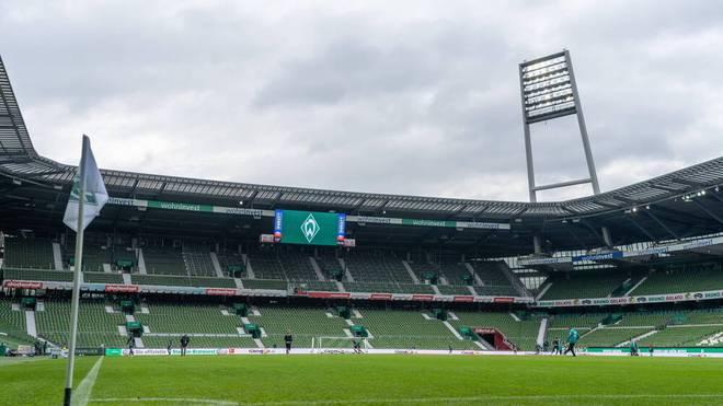 Werder Bremen muss seine Heimspiele im November ohne Zuschauer austragen