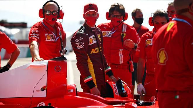 Mick Schumacher durfte in Mugello im Auto seines Vaters von 2004 fahren