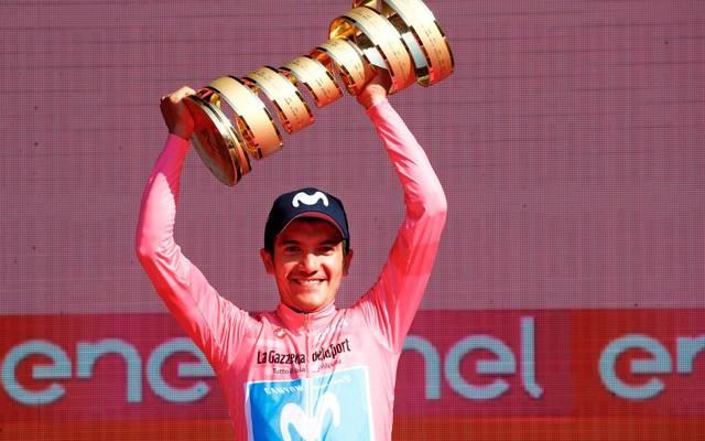 Giro-Sieger Richard Carapaz droht der Ausfall bei der Vuelta