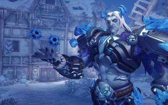 Overwatch: Winter Wonderland 2019: Sigma - Raureif