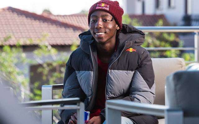 FIFA-Profi Thabo Moloi ist der erste Afrikaner in Red Bull's eSports-Segment