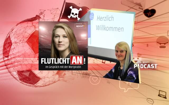 Mara Pfeiffer (l.) sprach für Flutlicht an! mit Franziska Blendin