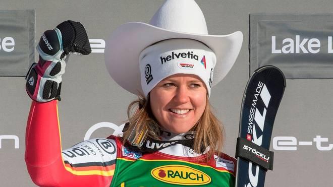 Viktoria Rebensburg gewann den Super-G in Lake Louise