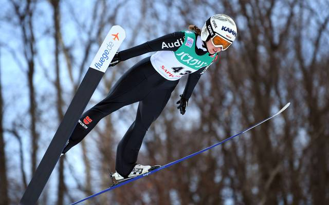 Juliane Seyfarth war in Oberstdorf als Achte beste Deutsche