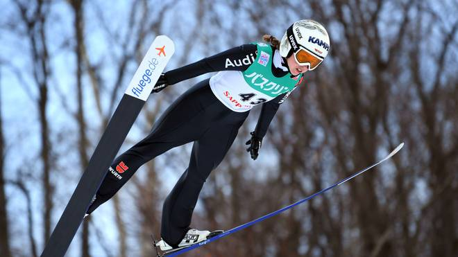 Juliane Seyfarth war in Oberstdorf als Achte beste Deutsche