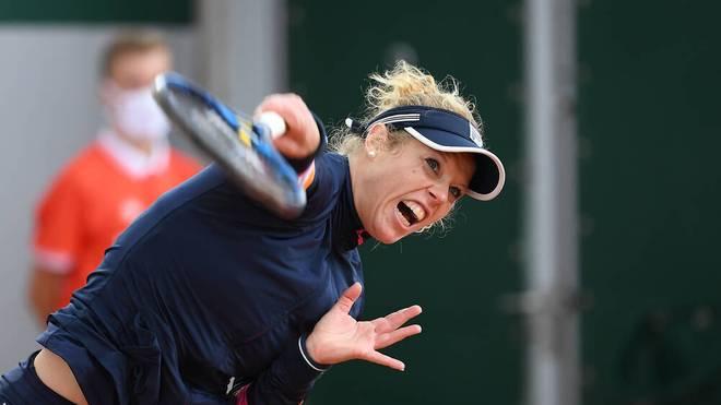 Laura Siegemund gibt bei den French Open im Doppel an der Seite von Wera Swonarewa auf