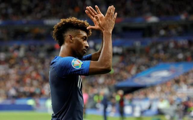 Kingsley Coman traf doppelt für Frankreich