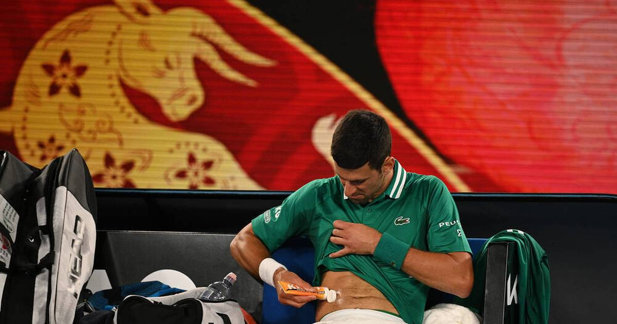 Australian Open: Novak Djokovic - Spekulationen um vorgetäuschte Verletzung - SPORT1