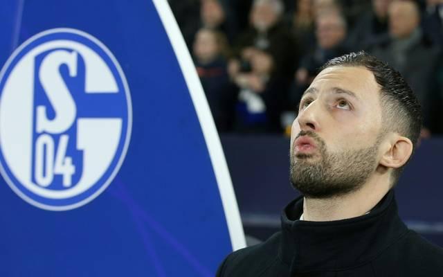 Domenico Tedesco war bis 2019 Trainer auf Schalke