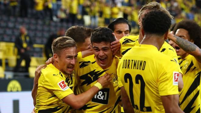 Giovanni Reyna brachte den BVB gegen Gladbach in Führung