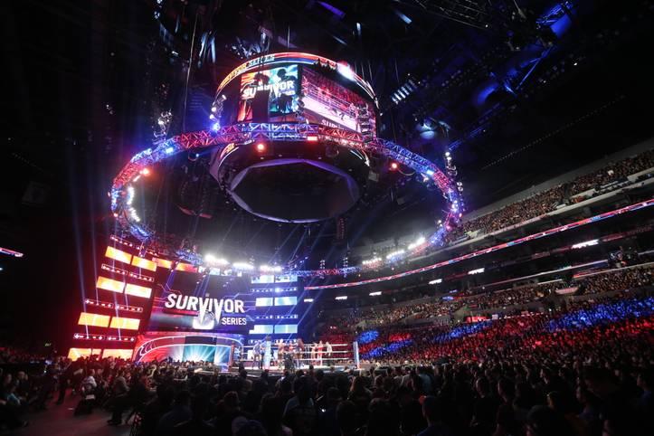 Spot an für die letzte der vier wichtigsten Großveranstaltungen des WWE-Jahres: die Survivor Series 2018 im Staples Center von Los Angeles