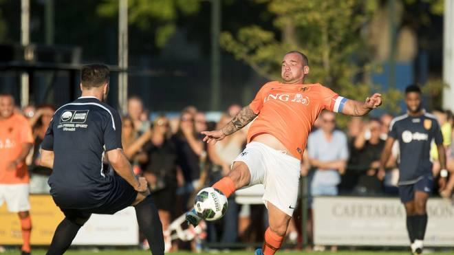 Wesley Sneijder präsentierte sich zuletzt nicht mehr in der Topform vergangener Tage