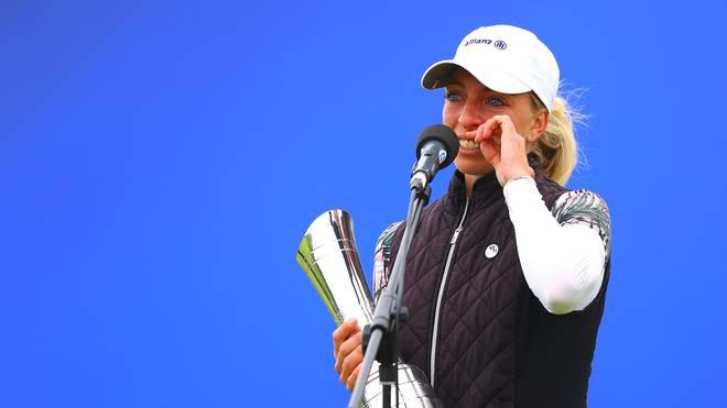 Sophia Popov liegt in der Weltrangliste auf Platz 304