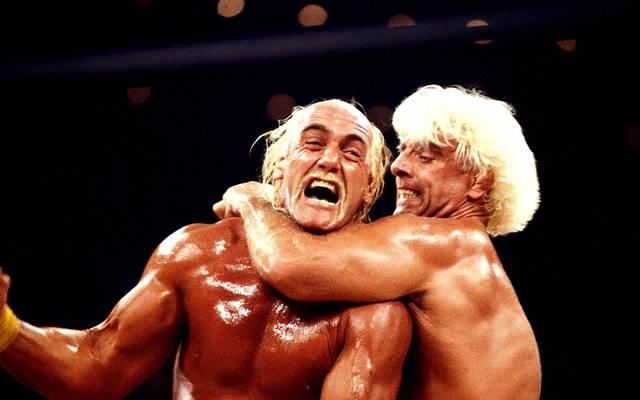 Ric Flair und Hulk Hogan bekriegten sich bei WWE und WCW