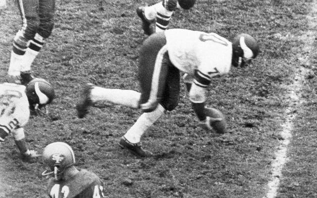 Jim Marshall von den Minnesota Vikings in der NFL 1964