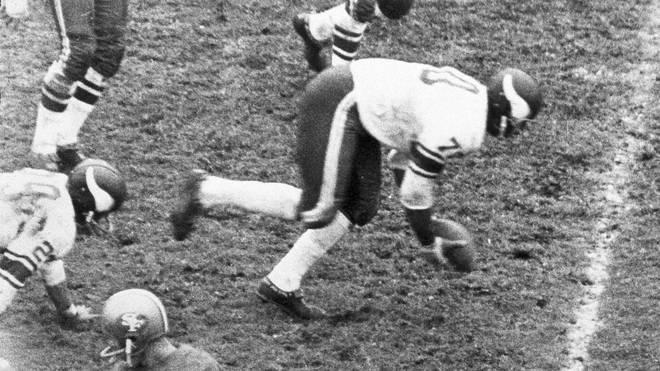 Jim Marshall von den Minnesota Vikings in der NFL 1964