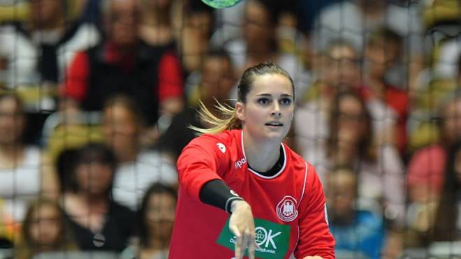 Dinah Eckerle ist eine der Leistungsträgerinnen beim DHB-Team