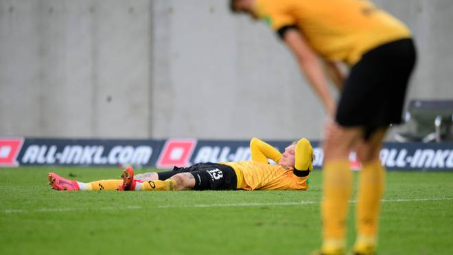 Dynamo Dresden muss gegen Holstein Kiel den KO verhindern