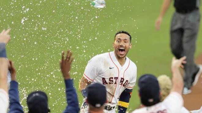 Carlos Correa wahrt den Astros die Möglichkeit auf die World Series