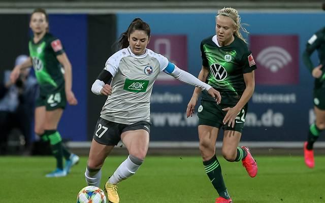 Wer stoppt Pernille Harder (r.) und den VfL Wolfsburg?