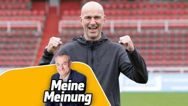 Markus Höhner (v.) traut Marco Antwerpen den Klassenerhalt mit dem 1.FC Kaiserslautern zu