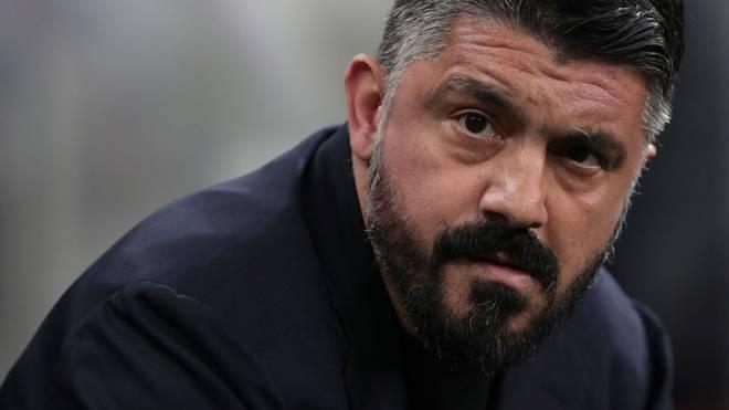 Gennaro Gattuso erfuhr von der schlimmen Nachricht im Trainingszentrum von Neapel