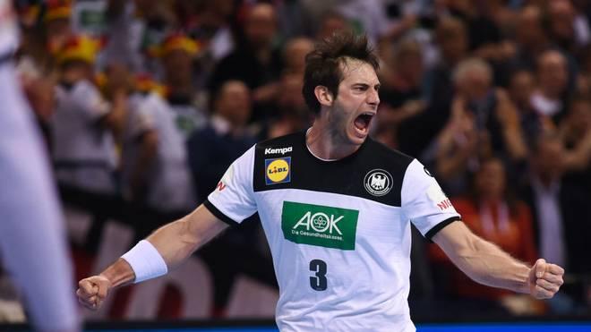 Uwe Gensheimer steht mit Deutschland in der Hauptrunde