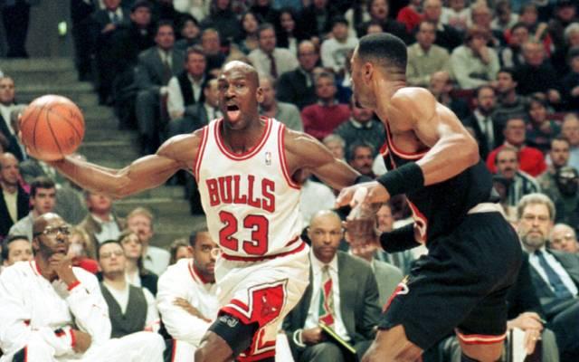 Michael Jordan war mit den Chicago Bulls 1996 kaum zu stoppen