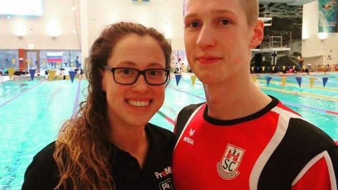 Die deutschen Schwimm-Asse Sarah Köhler und Florian Wellbrock
