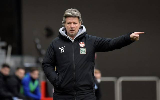 Trainer Jeff Saibene und der FCK sind seit drei Spielen sieglos