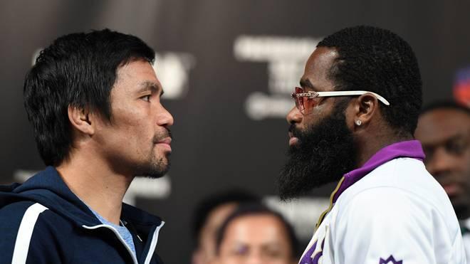 Manny Pacquiao gegen Adrien Broner