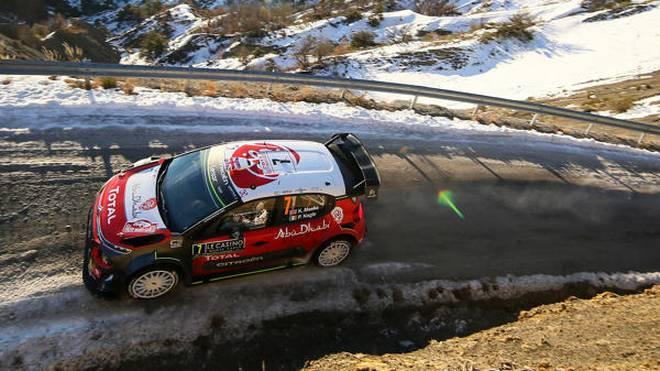 Kris Meeke sorgte nach Monte Carlo für den nächsten Unfall