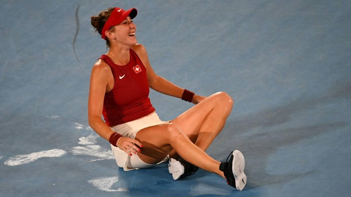 Belinda Bencic holte Gold für die Schweiz