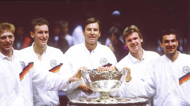 Tennis: Davis Cup 1989 Deutschland - Schweden 3:2