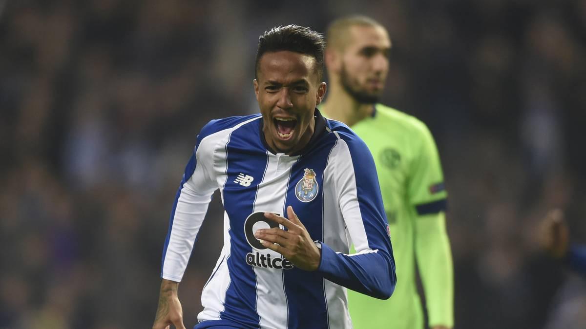 Eder Militao erzielte in der Gruppenphase gegen Schalke 04 ein Tor