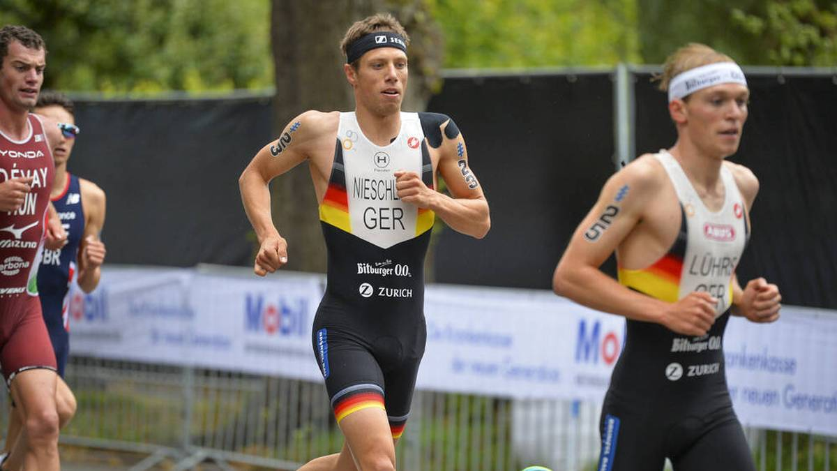 Justus Nieschlag gehört beim Triathlon in London zu den Mitfavoriten