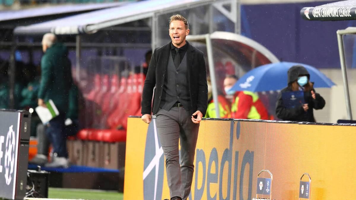 Julian Nagelsmann sah in der zweiten Halbzeit eine müde Leipziger Mannschaft