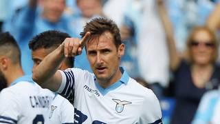 Miroslav Klos erzielte gegen Chievo Verona seinen elften Saisontreffer für Lazio Rom