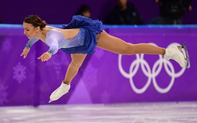 Nicole Schott zog mit ihrem besten Kurzprogramm der Saison ins Kürfinale bei Olympia ein