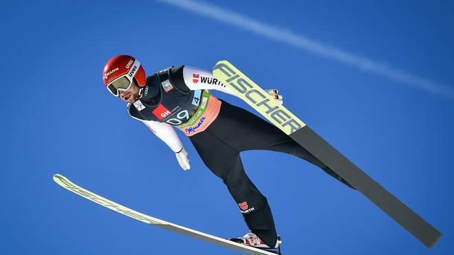 Markus Eisenbichler war bester deutscher Skispringer in Wisla