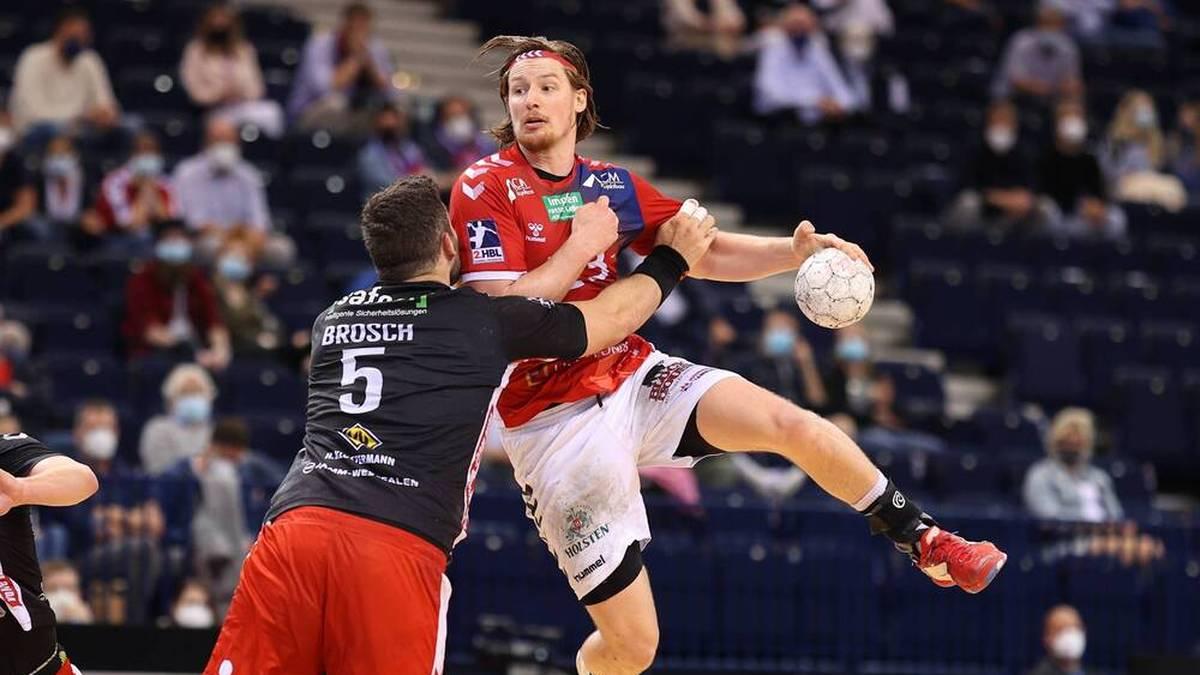 Der HSV Hamburg um Jan Forstbauer ist zurück in der Handball-Bundesliga